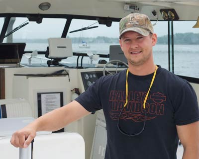 Captain Alex Tamble - Sturgeon Bay Charter Fishing