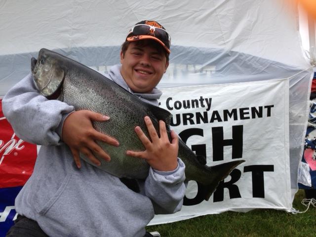 K D Salmon Tournament Sturgeon Bay Ou...